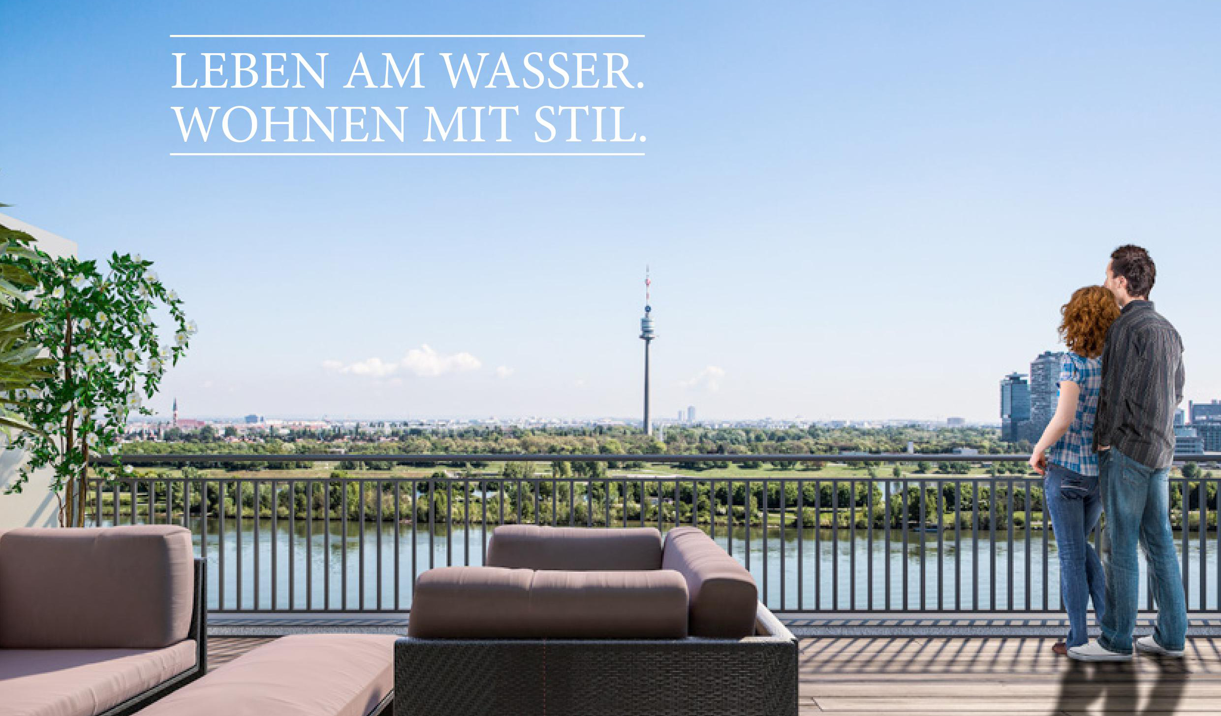 Home2 - Leben am Wasser. Wohnen mit Stil.
