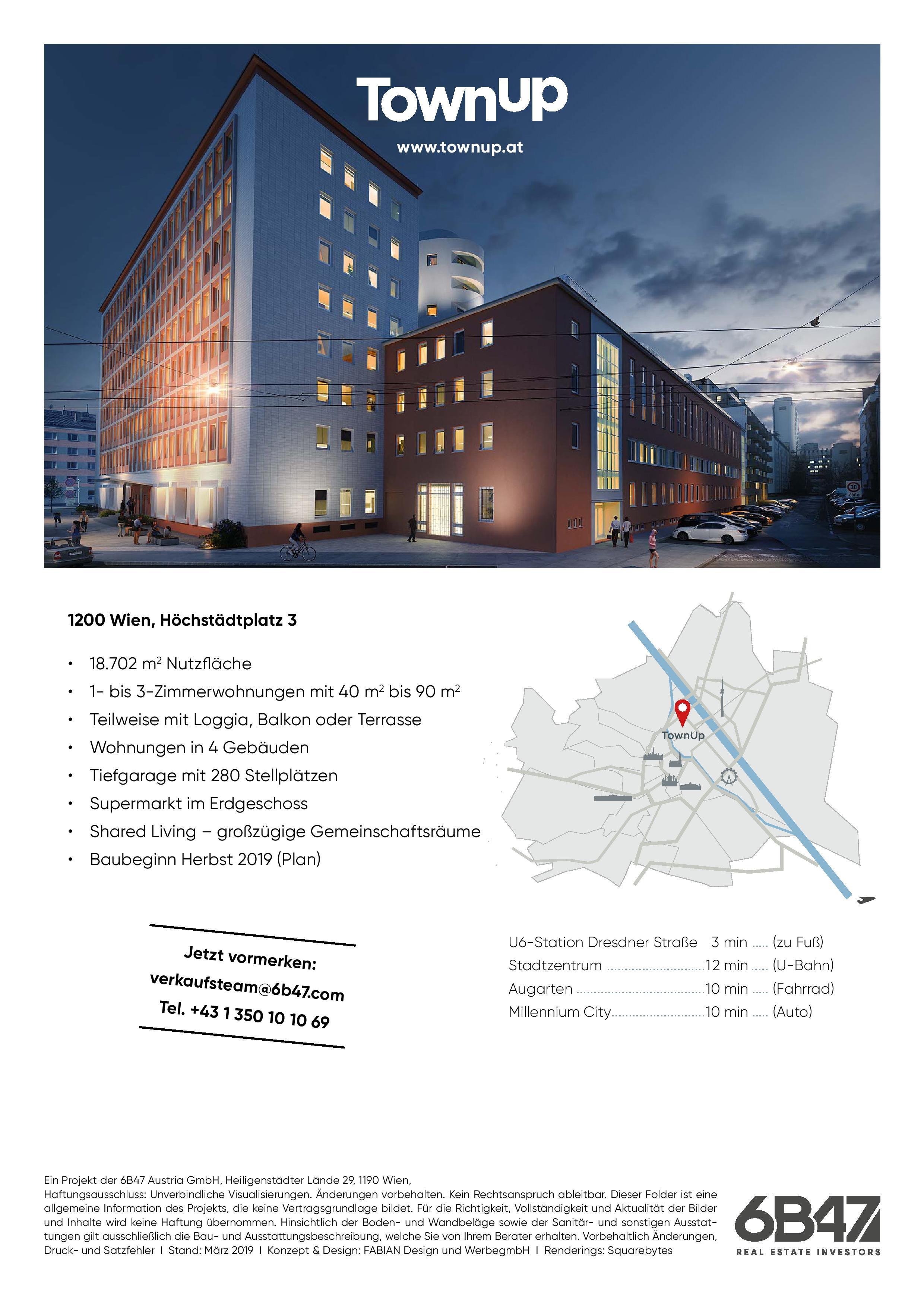 Wohnbauprojekt TownUp
