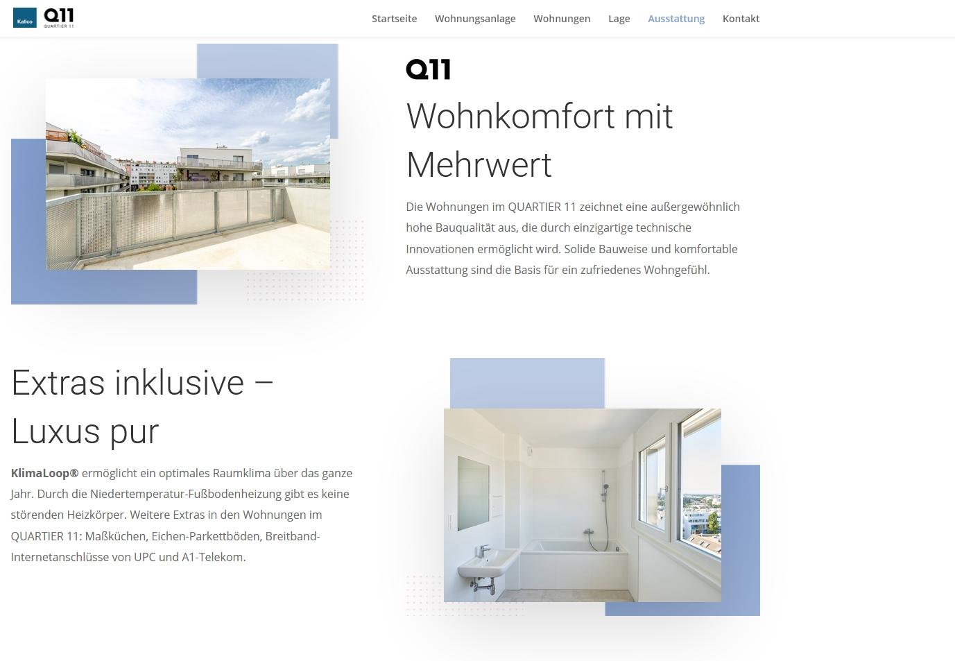 Wohnbauprojekt Q11