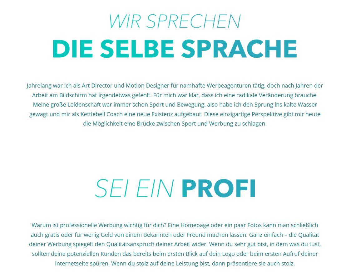 """Werbeagentur """"Sportwerbung"""""""